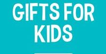 Gifts for Kids / Kids love toys. Kids also love cool clothes. Kids basically love everything. Give them everything they love this Holiday season without breaking the bank!