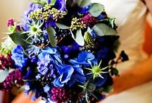 Bouquets Mariée Bleu // Blue Wedding Bouquet / Une sélection des plus beaux bouquets de mariage bleu. // A selection of the most beautiful blue wedding bouquets.