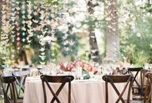 Mariage exterieur // Wedding Exteriors / Des idées de décoration de mariage pour vos extérieurs.  // Wedding outdoor inspiration board