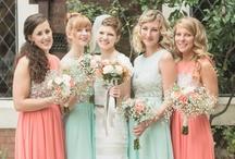 Demoiselles d'Honneur // Bridesmaids  / Board d'inspiration pour vos demoiselles d'honneur. // Bridesmaids inspiration board