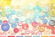 Wedding Colours / Couleurs de Mariage / Pick up your wedding color combo!