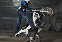 Kevlar Jeans for bikers / Biker kevlar jeans with patented system & high quality knee and shin protectors