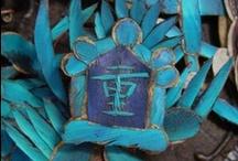 Aquamarine & Turquoise / Shades of aqua in nature and design