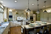 Kitchen Makeover / Inspiration for our kitchen makeover project coming up! :)  It's time to make a house a good lookin' home!!