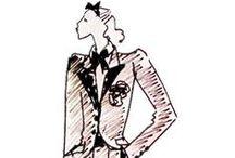 #YVES SAINT-LAURENT croquis & vidéos / Yves Saint-Laurent croquis & vidéos