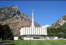 LDS Temples / Pictures and quotes about LDS (Mormon) Temples.
