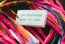 Meet the Artisans of Masoro! / We teamed up with some super-talented women artisans in Masoro, Rwanda to create beautiful products—and a whole new business model. See the story: www.saturday.com/onpurpose / by Kate Spade Saturday