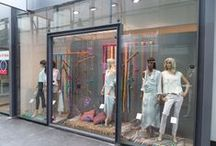 Window shopping / etalage / Etalages en presentaties bij van Beuzekom mode