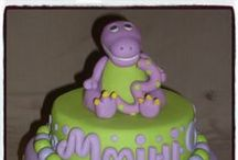 BARNEY & FRIENDS / Cakes, cupcakes, fondant cake & cupcakes toppers. For more information & orders Email SweetArtBfn@gmail.com or call 0712127786