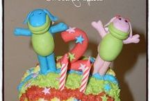Lollos & Lettie / Cakes, cupcakes, fondant cake & cupcakes toppers. For more information & orders Email SweetArtBfn@gmail.com or call 0712127786