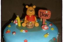 Winnie Pooh & Friends / Cakes, cupcakes & fondant cake & cupcake toppers