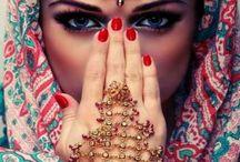 Glamour HINDú / Saree, joyas...y toda la belleza exótica de la cultura de India