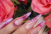 Spring Nail - Tavaszi körmök - műköröm / Ötletek tavaszi szalonkörmök készítéséhez, legyen szó akár gél lalkk, akár körömlakk, akár műköröm mintákról. Jó alkotást kívánunk! Nail, nails, nailart, köröm, géllakk, gel lac, nail fashion, fashion