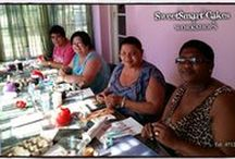 CAKE DECORATING WORKSHOPS, COURSES & CLASSES (Bloemfontein) / Come join me in the sweet world of Cake baking & cake decorating.   Various cake  baking & cake decorating workshops, courses & classes available for beginners.   For more info on workshops presented, email SweetArtBfn@gmail.com or call 0712127786.    Schedule & registration at http://www.myjotform.com/sweetart/WorkshopRegistration.  JOIN ME ON FACEBOOK AT https://www.facebook.com/groups/BloemCakeDecoratingWorkshops/