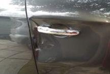 επισκευη πορτας / επισκευη πορτας αυτοκινητου με σφυριλατηση και βαφη!!!