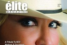 elite Magazine Covers / Covers of each issue.