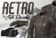 RETRO biker clothing collection by 4SR /  If you admire the retro and custom bikes RETRO collection by 4SR is just your style. RETRO collection was made from premium, soft buffalo leather: