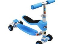 Fuzion Children's Scooters & Kneeboards
