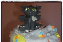 How to train a dragon / How to train a dragon, toothless & night fury cakes & cupcakes.