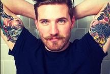 he looks nice. / guys that I enjoy looking at. / by Grae Greer