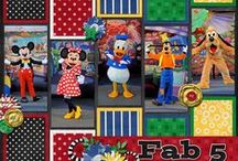 Scrapbooking - Disney / It's all about Disney! / by Kathleen Ordiway