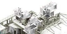 About Architecture Models / Architectural models, concept models, ..