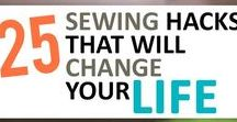 DIY Sewing / Sewing Ideas, Mend-Its & Projects