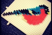 crafts: PERLER BEADS / Perler beads crafts ideas / by Allison Schuman