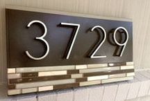 House Numbers / by Cathy Boyd