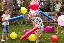 Lawn Games for All Ages / When the weather is nice we all want to get the kids and family outdoors enjoying it! Here are some great lawn games for all ages that will insure that everyone begs to go outdoors the next time!  / by VMInnovations