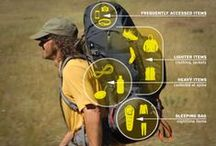 Backpacking / On your next camping trip, why not park the car and backpack further into the park to set up camp?! Here are some great tips and products to help you set up this backpacking trip! / by VMInnovations