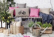 Living: Garden inspiration / Ideas for small and medium sized hideaways