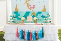 Mermaid Party / Mermaid party ideas  / by Sweetly Chic Events & Design