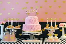 Baby Shower Ideas / Baby shower party ideas  / by Sweetly Chic Events & Design