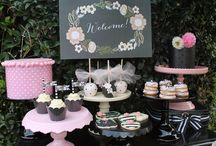 Bridal Shower Ideas / Wedding and Bridal Shower Ideas  / by Sweetly Chic Events & Design