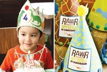 Dinosaur Party / by Sweetly Chic Events & Design