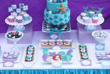 Little Mermaid Party / Ariel/ little mermaid party ideas  / by Sweetly Chic Events & Design