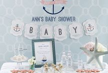 Nautical Party / Nautical party ideas  / by Sweetly Chic Events & Design