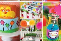 The Lorax Birthday Party / by Sweetly Chic Events & Design