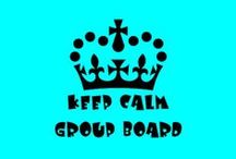KEEP CALM ♔ GROUP BOARD / RULES⊛⊛ NO NUDITY OR SEXUAL CONTENT! Keep to the Keep Calm theme, anything non related will be removed and may result to you been blocked. Please respect your fellow contributor by not flooding their feed. Do NOT pin over 5 images at a time.⊛⊛ Anything showing prices will be deleted, respect the RULES otherwise after one warning you will be removed.