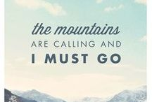 Mountains...Wanderlust