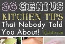 Kitchen Tips / Having a Functioning Kitchen -- Being Able to Eat What You Grow