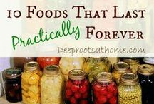 Preserving Food / Storing Food Once it is Harvested