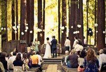 casual outdoor wedding