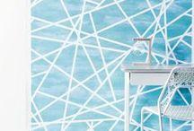 Living: Wallpaper and Wall art