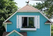 Living: Small house living / Tiny house movement inspiration