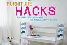 Books: Furniture Hacks / My book Furniture Hacks is a full of up-cycling and other creative ideas for your home. Published by Cico Books August 2015 and written by Hester van Overbeek