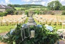 Outdoor Wedding Ceremonies / Outdoor Wedding Ceremonies at Tankardstown House