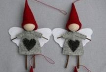 Season - Christmas / Ideas for Christmas crafting, sewing, drawing