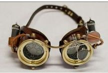 Steampunk / Your kind of whimsical Victorian-industrial materials.